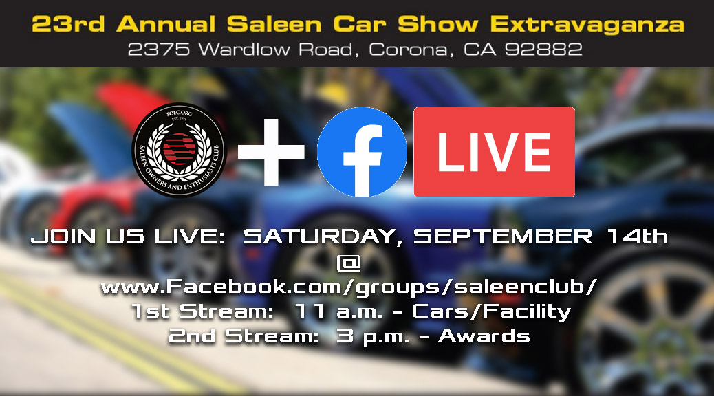 SOEC BROADCASTS FROM 23rd ANNUAL SALEEN SHOW & OPEN HOUSE