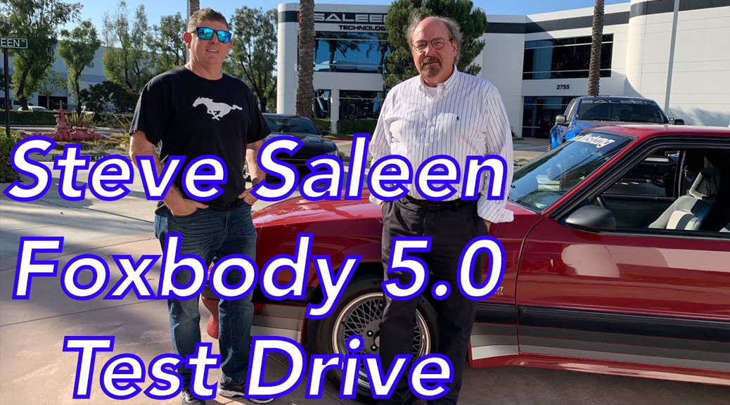 STEVE SALEEN & EVAN SMITH REVIEW 1988 SALEEN MUSTANG