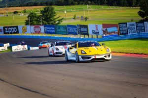 The Saleen Cup Racing Series is intended to be easy to enter and affordable to maintain while retaining a professional-level of racing in the Saleen 1 spec race car.