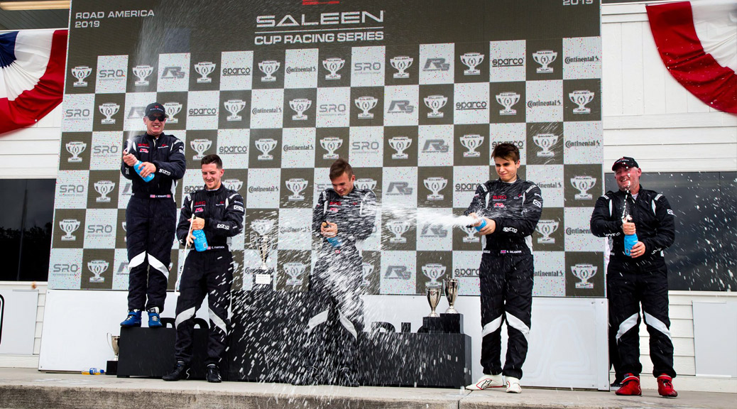 WINNERS OF RACE #1 AT ROAD AMERICA