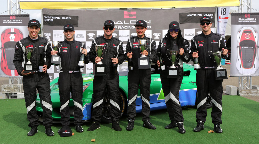 WINNERS OF RACE #1 AT WATKINS GLEN