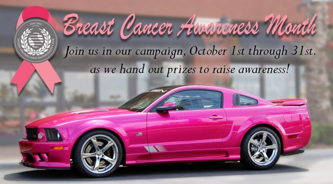 SOEC BREAST CANCER AWARENESS MONTH AND SWEEPSTAKES GIVE-A-WAYS