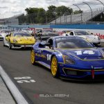 The Watkins Glen races is the second of four events in the 2019 Saleen Cup, a single-make series highlighting the capabilities of the new Saleen 1 turbocharged 450 horsepower sports car. (Photo: Saleen Automotive)