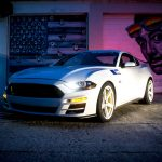 2019 Ford Mustang Saleen White Label Exterior Ford Authority Front Three Quarters
