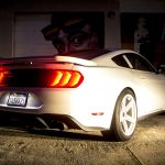 2019 Ford Mustang Saleen White Label Exterior Ford Authority Rear Three Quarters