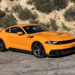 This bright orange beast is Saleen's latest take on the Ford Mustang.