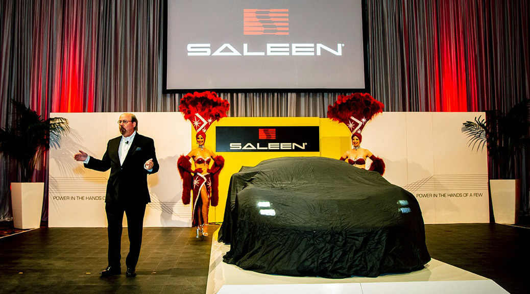 SALEEN 1 GT4 LAS VEGAS LAUNCH RECAP
