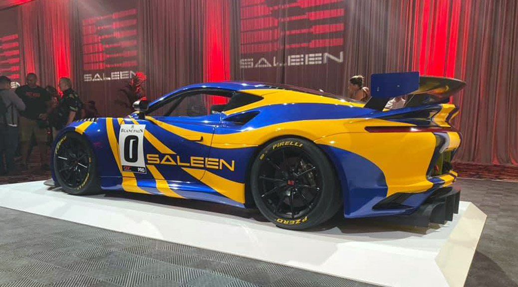 2020 SALEEN 1 GT4 LAS VEGAS DEBUT