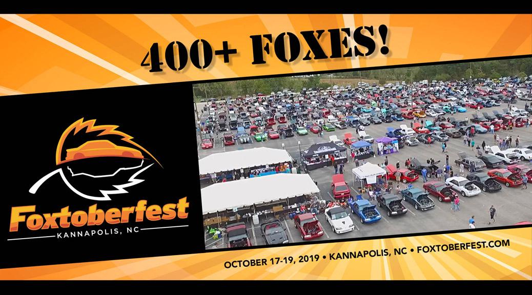 FOXTOBERFEST: OCT 17-19, 2019 – KANNAPOLIS, NC