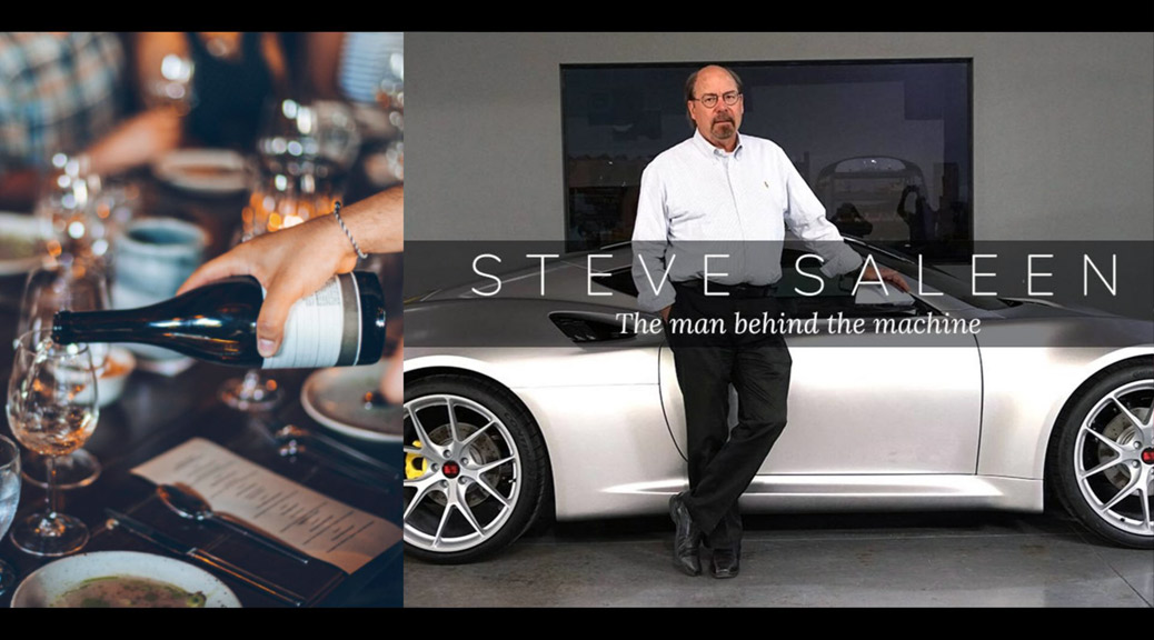 AN INTIMATE DINNER WITH STEVE SALEEN, NOV. 15, 2019