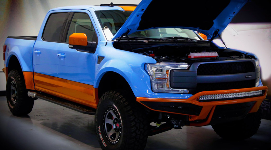 GULF PAINT SALEEN SPORTRUCK XR IS BORN