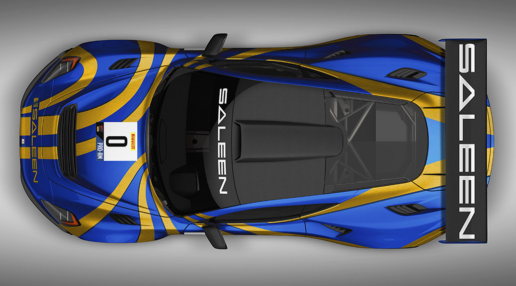 SALEEN UNVEILS 2020 SEASON GT4 CONCEPT RACE CAR
