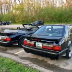 1988 Saleen Mustang Convertible & 1987 Saleen Mustang Hatchback - courtesy of Colin Comer