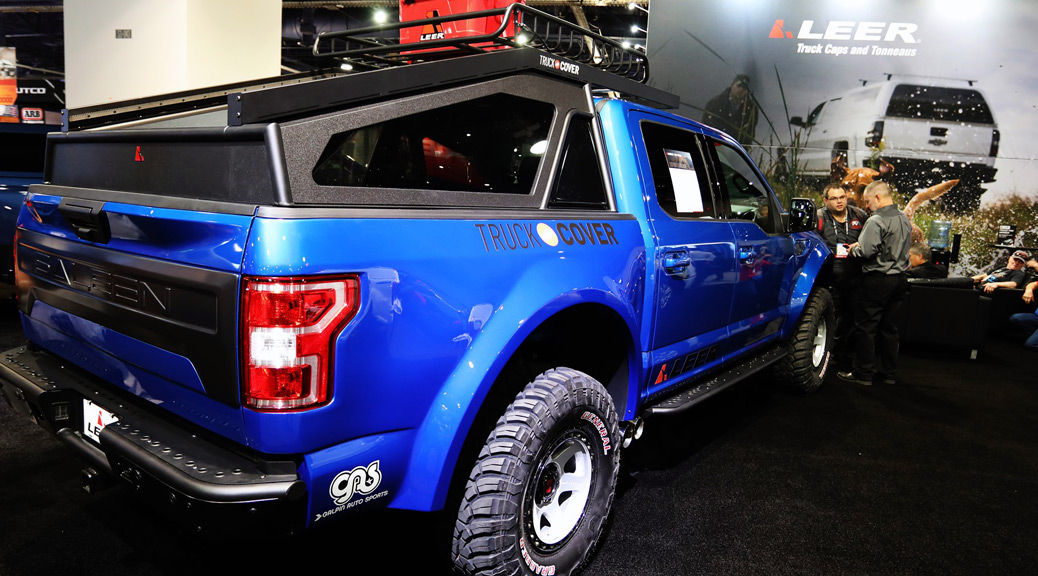 SPORTRUCK XR IN 'TRUCK ACCESSORIES GROUP' BOOTH AT SEMA `19