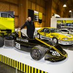 Steve Saleen with March B Formula Atlantic race car
