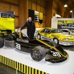 Steve Saleen with March B Formula Atlantic race car