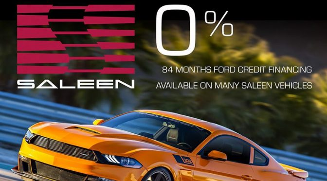 0% FORD CREDIT FINANCING FOR 84 MONTHS
