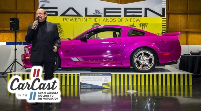 STEVE SALEEN VISITS WITH MATT & BILL ON CARCAST
