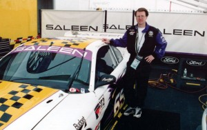 Greg with Saleen Race Car
