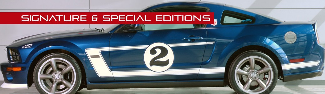 Signature & Special Editions