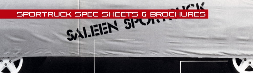 SporTruck Spec Sheets & Brochures