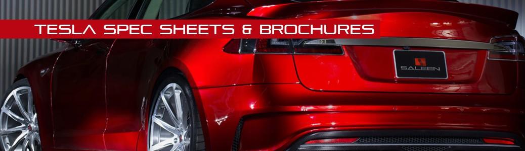 Tesla Spec Sheets & Brochures