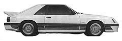 Vehicle Mustang 1984-1986