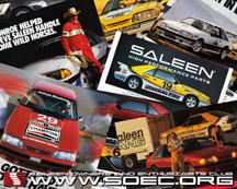 Early Saleen Advertisements
